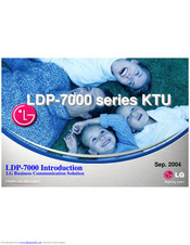LG LDP7024LD Introduction Manual