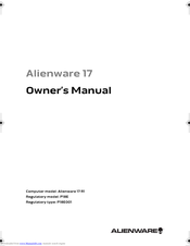 Dell Alienware 17 R1 Manuals