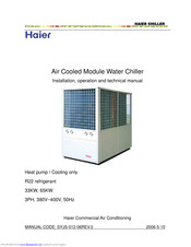 Haier CA0035AANB Installation & Operation Manual