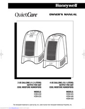 HONEYWELL HCM-646 - HUMIDIFIER WITH ELECTRONIC CONTROLS OWNER'S MANUAL Pdf  Download | ManualsLibManualsLib
