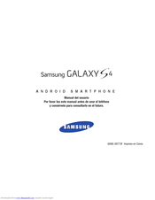 Samsung Galaxy S4 SCH-I545 Manual Del Usuario