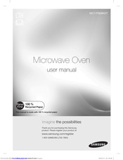 Samsung MC17F808KDT User Manual