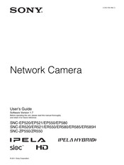 Sony Ipela SNC-EP520 User Manual