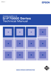 Epson S1F76310M1L0 Technical Manual