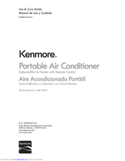 KENMORE 408.72012 Use & Care Manual