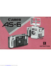 Canon AS 6 Instructions Manual