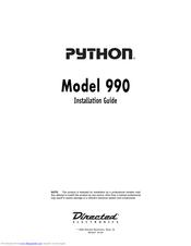 python alarm wiring diagram directed electronics python 990 installation manual pdf download  python 990 installation manual pdf