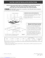 Kenmore 3182C1412 Installation Instructions Manual