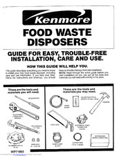 KENMORE 175.6012 Use & Care Manual
