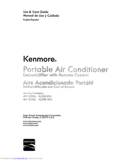 KENMORE 407.83086 Use & Care Manual