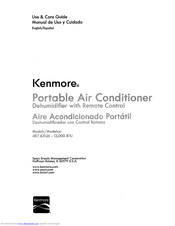 KENMORE 407.83126 Use & Care Manual