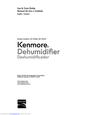 KENMORE 407.53570 Use & Care Manual