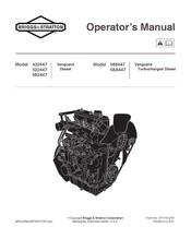 Briggs Amp Stratton Vanguard Turbocharged Diesel 588447 Manuals