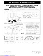 Kenmore 318201446 Installation Instructions Manual