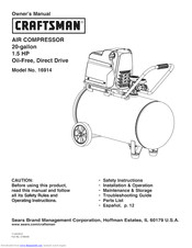 CRAFTSMAN 16914 Owner's Manual