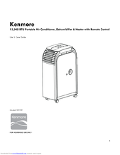 Kenmore 35132 Use & Care Manual
