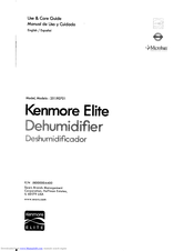 Kenmore Elite 251.90701 Use & Care Manual