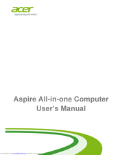 Acer Aspire Z3-105 User Manual