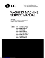 LG WD-1042FH Service Manual