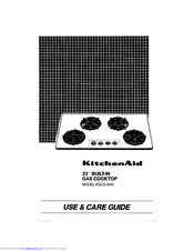 KitchenAid KGCS-1340 Use And Care Manual