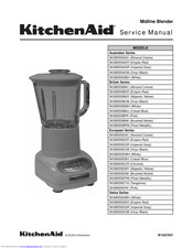 KitchenAid 5KSB555BNK Service Manual