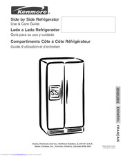 KENMORE Side by side 253 Use & Care Manual