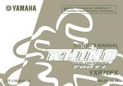 Yamaha Rhino 700 Fi Yxr70fx Manuals Manualslib