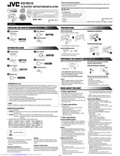 [SCHEMATICS_4FR]  JVC KD-R210 INSTRUCTIONS & INSTALLATION MANUAL Pdf Download | ManualsLib | Jvc R210 Wiring Diagram |  | ManualsLib