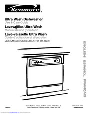 KENMORE 17739 Use And Care Manual