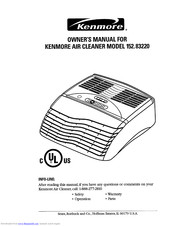 KENMORE 152.83220 Owner's Manual