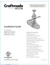 craftmade wiring diagram craftmade bw321ag3 installation manual pdf download  craftmade bw321ag3 installation manual