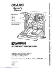 KENMORE Sears 14191 Owner's Manual