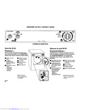 KENMORE 240-volt compact electric dryers User Manual