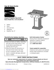 KENMORE 119.16126010 Use And Care Manual