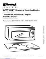 Kenmore Ultra Wave Microwave Hood