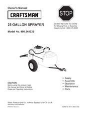 Craftsman 486.245332 Owner's Manual
