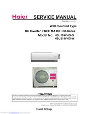 Haier AS12TA2HRA Manuals on
