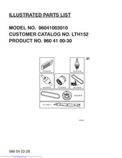 Husqvarna LTH152 Illustrated Parts List