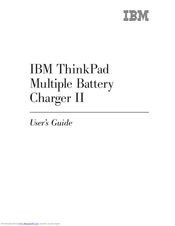 IBM ThinkPad Battery Charger II User Manual