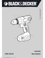 Black & Decker EGBL108-XE Original Instructions Manual