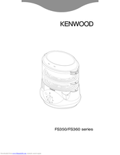 Kenwood FS350 series Quick Manual