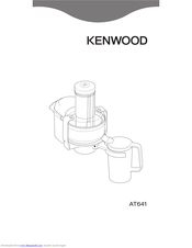 Kenwood AT641 Quick Manual