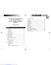 Oregon Scientific Rrm902a User Manual Pdf Download Manualslib