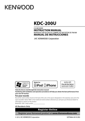 [WQZT_9871]  Kenwood KDC-200U Manuals | ManualsLib | Kenwood Kdc 200u Wiring Diagram |  | ManualsLib