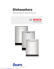 Bosch Ascenta SHX3AR75UC Instructions For Use Manual