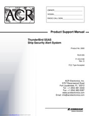 ACR Electronics 2800 Product Support Manual