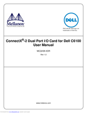 Dell ConnectX MCQH29-XDR User Manual