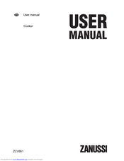 Zanussi ZCV661 User Manual