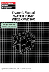 Honda VT750CD2 Owner's Manual