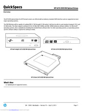 HP 481047-B2 Specification